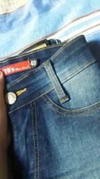 Calça jeans pouco uso e saía jeans