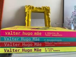 Vendo Combo 4 Livros Valter Hugo Mãe