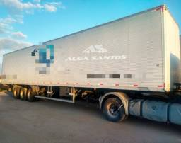 Título do anúncio: Maxfort Baú Alumínio 3 eixos 2015/2016