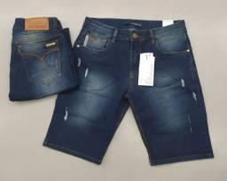 Bermudas jeans