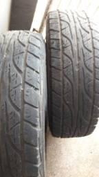Título do anúncio: 2 Pneu Dunlop Aro 16 - 255/70 R16 R$370,00