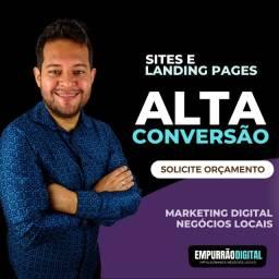Título do anúncio: Criação de Sites e Landing Page de Alta Conversão Profissionais otimizados