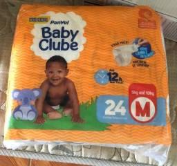 Título do anúncio: Fralda M Baby Club com 24 unidades