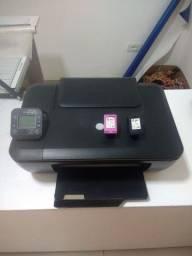 Impressora Hp boa com cartuchos vazios