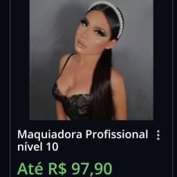 Título do anúncio: Curso de Maquiagem Profissional Online