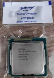 Processador Intel Core I5-3470 De 4 Núcleos E 3.2ghz Com Gpu + Pasta térmica