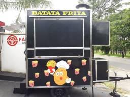 Food truck/trailer de lanches