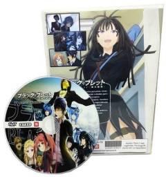Box Dvd Anime Black Bullet Completo