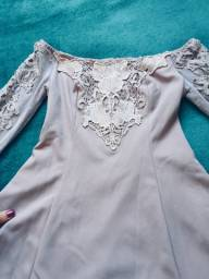 Vestido usado 3 vezes