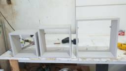 Kit de nichos novos na cor creme  50 reais