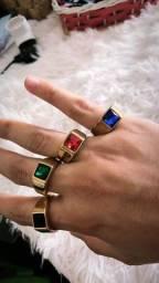 Título do anúncio: Anéis de Pedra
