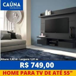 """Título do anúncio: Painel Home Livin até 55"""" - Novo - Entrega Grátis"""