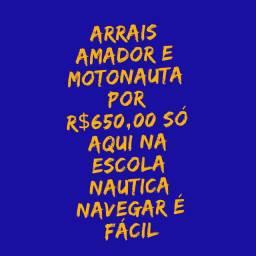 Emissão de Carteira Arrais Amador e Motonauta