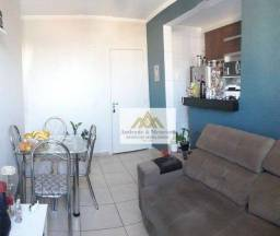 Título do anúncio: Apartamento com 2 dormitórios à venda, 46 m² por R$ 160.000,00 - Jardim Paulistano - Ribei