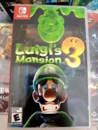 Título do anúncio: Luigi's mansion nintendo switch