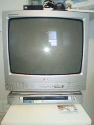 TV de tubo LG 26 com conversor