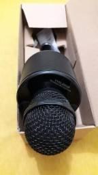 Microfone bluetooth karaokê