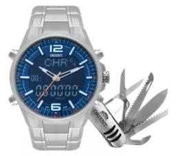 Relógio Orient Original Analógico E Digital Lançamento
