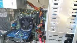 PC Gamer com Intel Core I5 3470 3.20GHz e Placa de vídeo GTX 650 2GB HD 160GB Fonte 450w