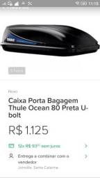 Vendo Caixa porta bagagem ocean preta ubolt
