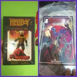Encadernado Hellboy e Spawn