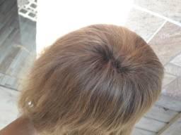 Peruca de cabelo original loiro