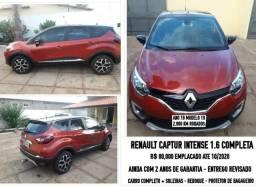 Renault captur intense 1.6 x - tronic completa - 2018