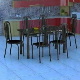 Vendo mesa 6 cadeiras Granada
