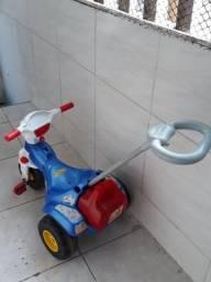 Triciclo pra vender logo