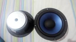Dois alto falantes sony 6,5 polegadas