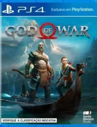 God of War 4 Ps4 Original 1 e 2 Vitalícia
