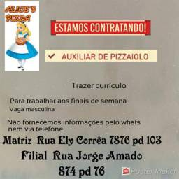 Pizzaiolo e Auxiliar de Pizzaiolo