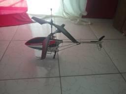 Helicóptero Thunder 18 Novo Com Bateria Carregador E Manual