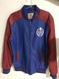 Jaqueta de Couro Fake, Marca Polo Wear