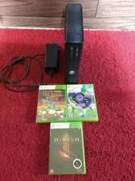 Xbox 360 ótimo estado 350 sem controle watts 97520557