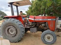 Trator massey fergusson 265 ano 95 valor 31 mil limpo e 35 com arado