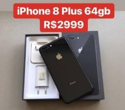 IPhone 8 Plus 64gb Nota Fiscal - Aceito Cartão