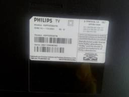 TV Philips Quebrada