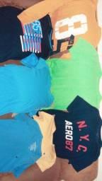 Camisetas várias marcas ótima qualidade
