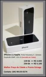 Iphone 11 - 128Gb / 256Gb - Preto