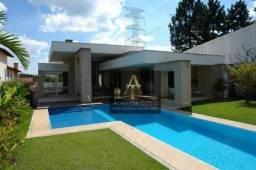 Belíssima Casa Para Locação No Residencial Doze de Alphaville ? 587 m² ? Confira!