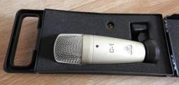 Microfone Condensador Behringer C-1 Cardióide Prata