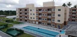 Apartamento com 2 dormitórios para alugar, 54 m² por R$ 739,00/mês - Centro - Eusébio/CE