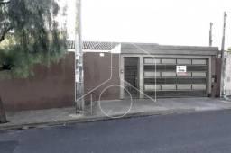 Casa à venda com 3 dormitórios em Jardim nacional, Marilia cod:V9951