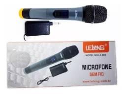 Microfone sem fio Llelong ( produto novo de qualidade)