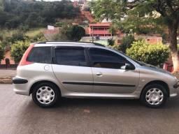 Vende-se: Peugeot 206 SW 1.4 2007/2008 (completo)