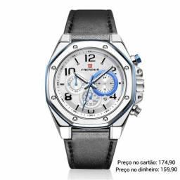 Relógio masculino original Faerduo cronógrafo premium