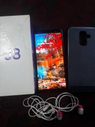 J8 64gb lilás troco vendo caixa assessoria