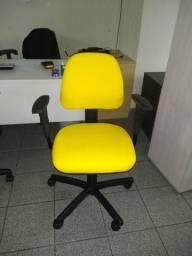 Cadeira de Escritório Flexform Amarela