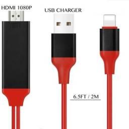 Cabo Lightning Hdtv Adaptador Hdmi Para Iphone 5 6 7 Plusus 7 8 X comprar usado  Cariacica